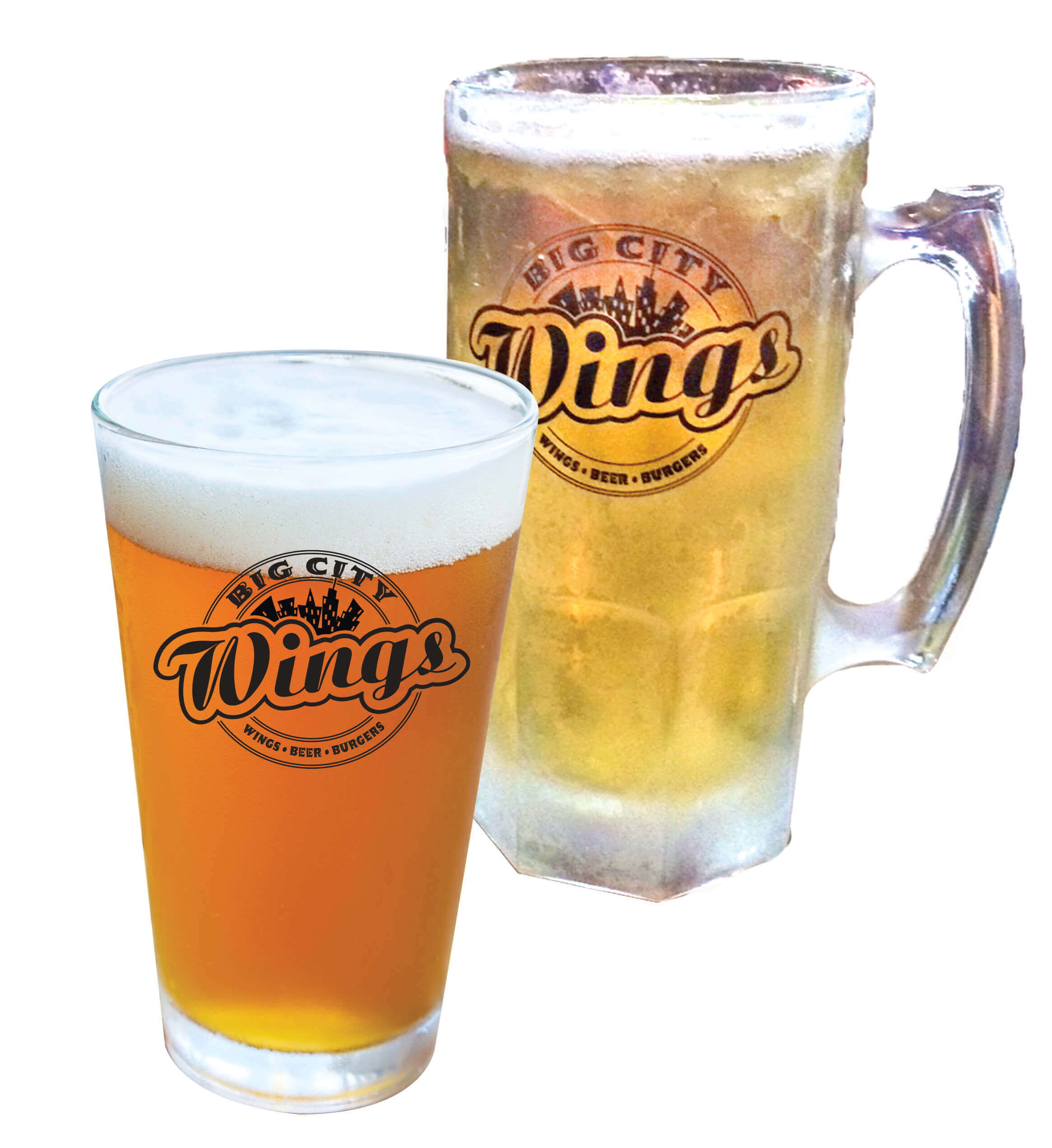 Beverages - Big City Wings soft drinks, beer, wine, +